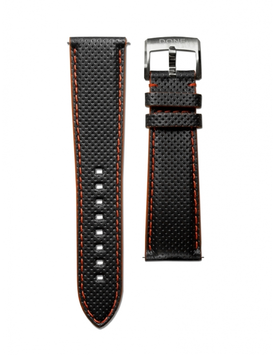 Leather Strap 22/18mm -...
