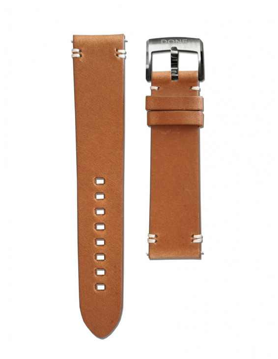 Leather Strap 20/18mm -...