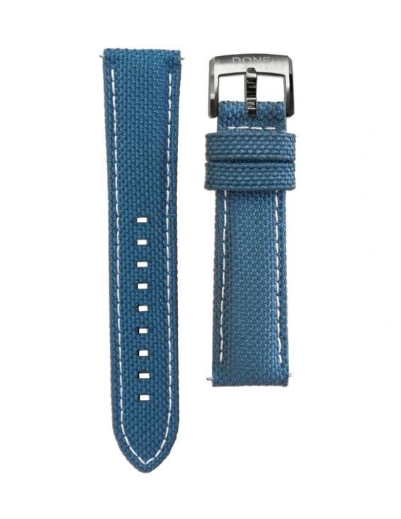 Bracelet 20/18mm - Tissu...