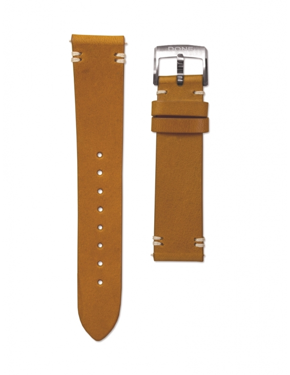 Leather strap 18/16mm -...