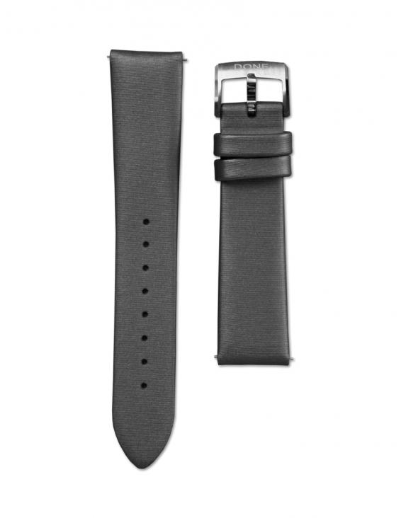 Satin strap 18/16mm - Grey...