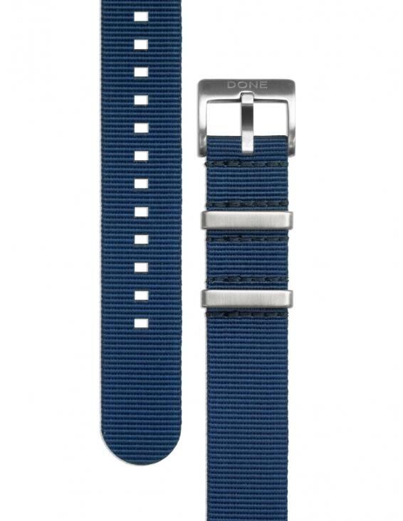 Bracelet 20mm - NATO bleu...