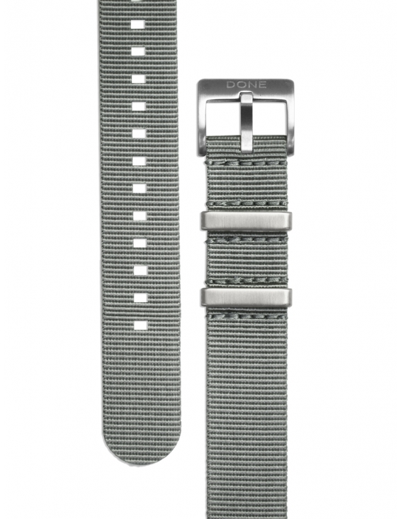 NATO Strap 20mm - Grey with...