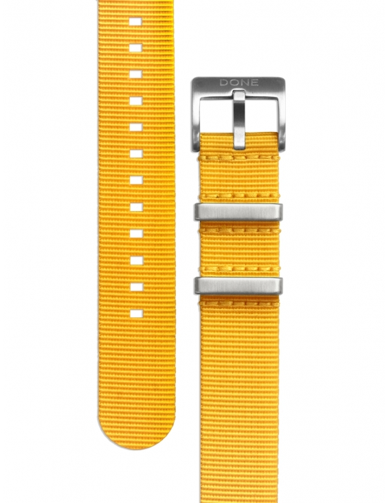 Bracelet 20mm - NATO jaune...