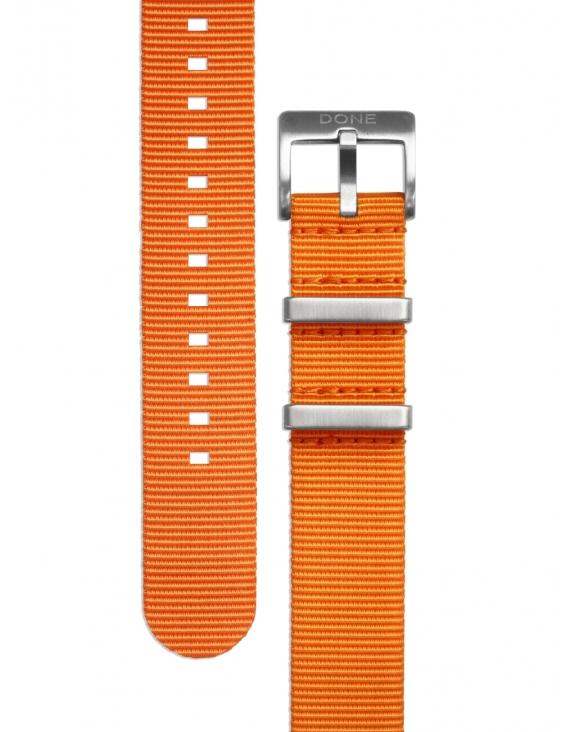 Bracelet 20mm - NATO orange...