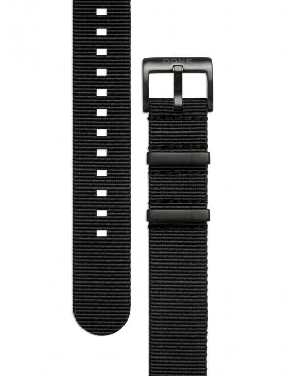 Bracelet 20mm - NATO noir...