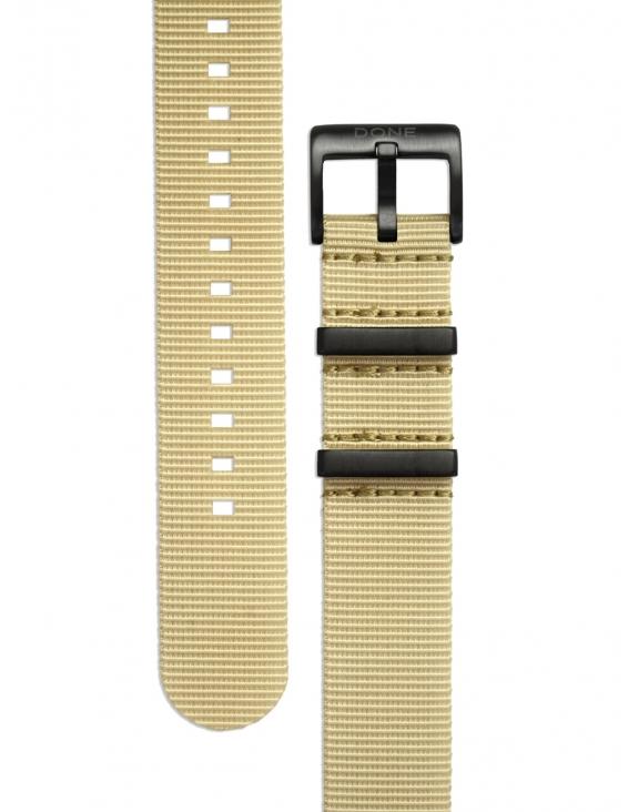 Bracelet 20mm - NATO beige...