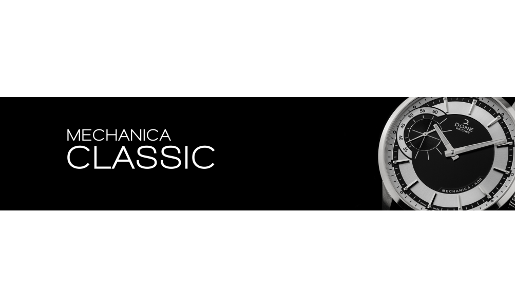 Mechanic Swiss Made Watches › Mechanica Classic Collection ⌚ Donewatches.ch